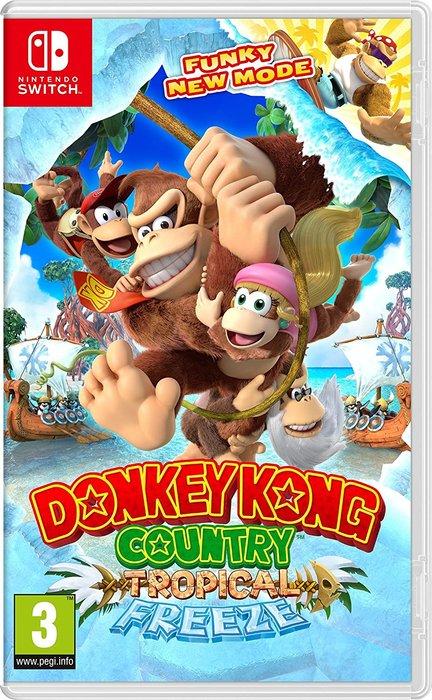 Videojuego switch donkey kong country: tropical freeze