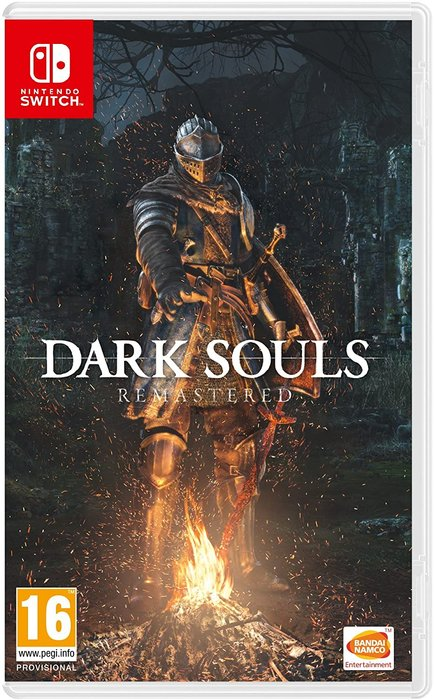 Videojuego switch dark souls remastered
