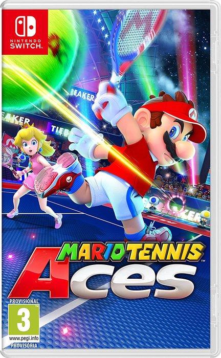 Videojuego switch mario tennis aces