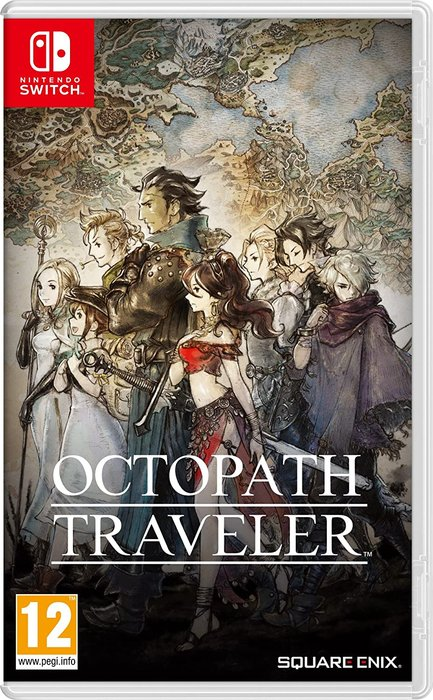 Videojuego switch octopath traveller
