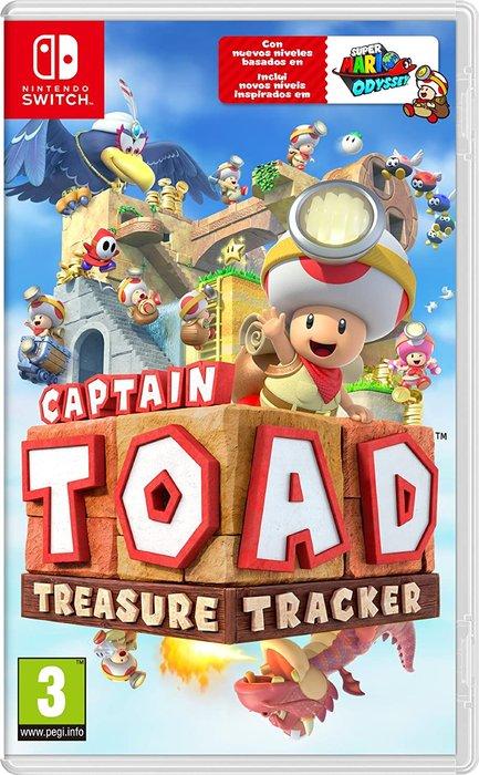 Videojuego switch captain toad: treasure tracker