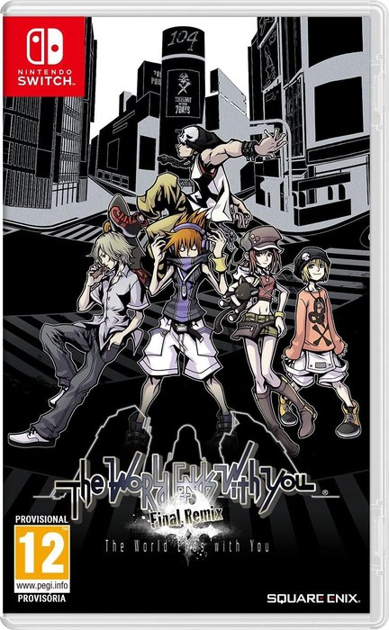Videojuego switch world ends with you: final remix