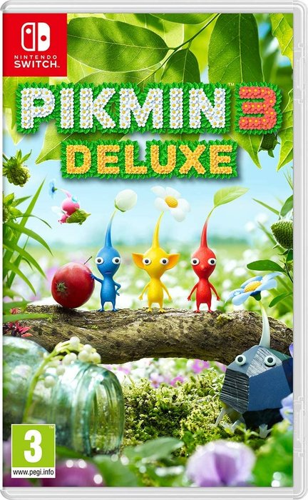 Videojuego switch pikmin 3 deluxe