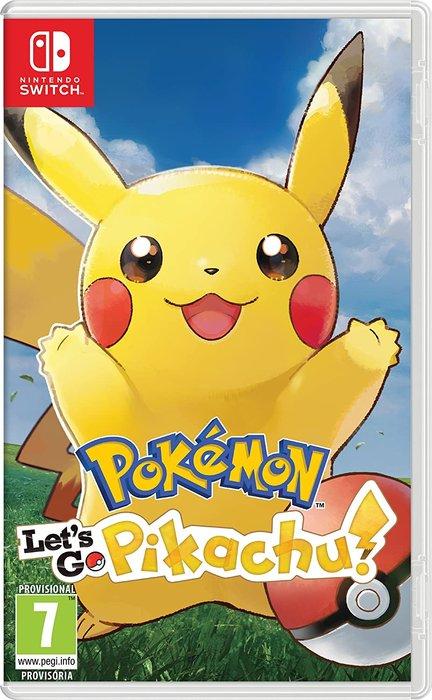 Videojuego switch pokemon let´s go pikachu!