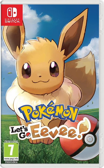 Videojuego switch pokemon let´s go eevee!