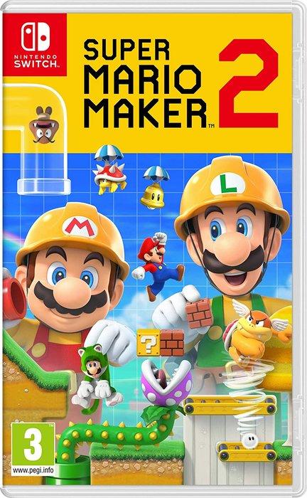 Videojuego switch super mario maker 2