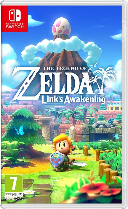 Videojuego switch zelda link´s awakening remake