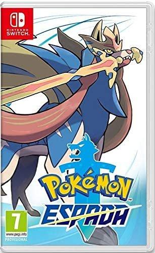 Videojuego switch pokemon espada
