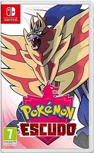 Videojuego switch pokemon escudo