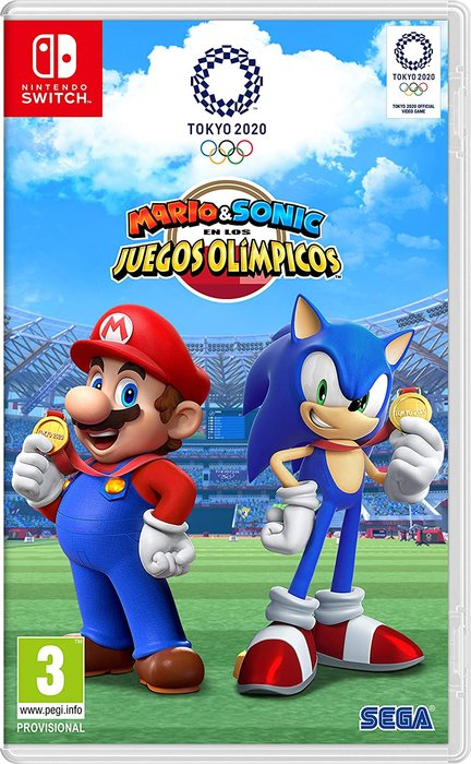 Videojuego switch mario&sonic jjoo tokyo 2020