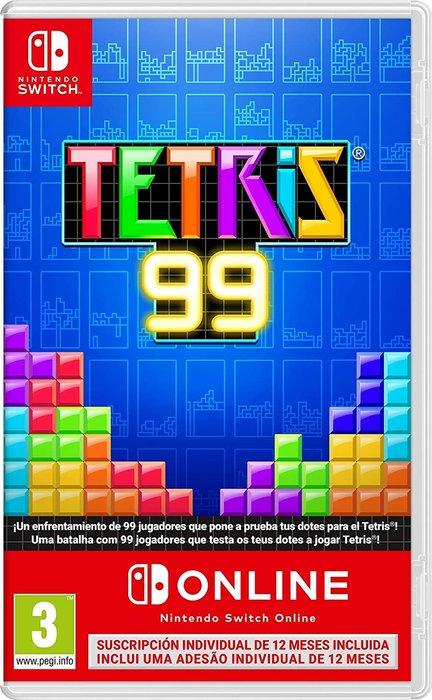 Videojuego tetris 99 +12 meses nintendo switch online