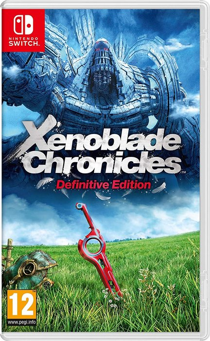 Videojuego switch xenoblade chronicles: definitive edition