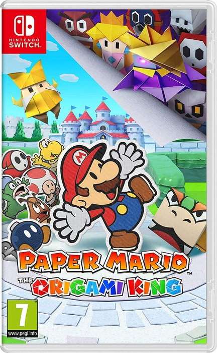 Videojuego switch paper mario: the origami king