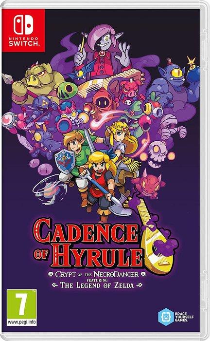 Videojuego switch cadence of hyrule