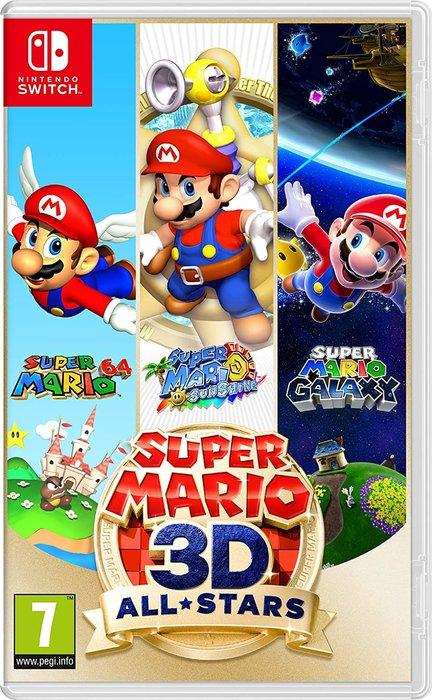 Videojuego switch super mario 3d all-stars