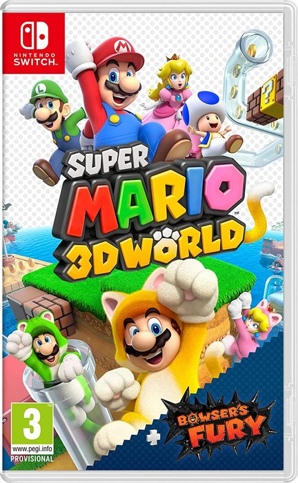 Videojuego switch super mario 3d world + bowser´s fury
