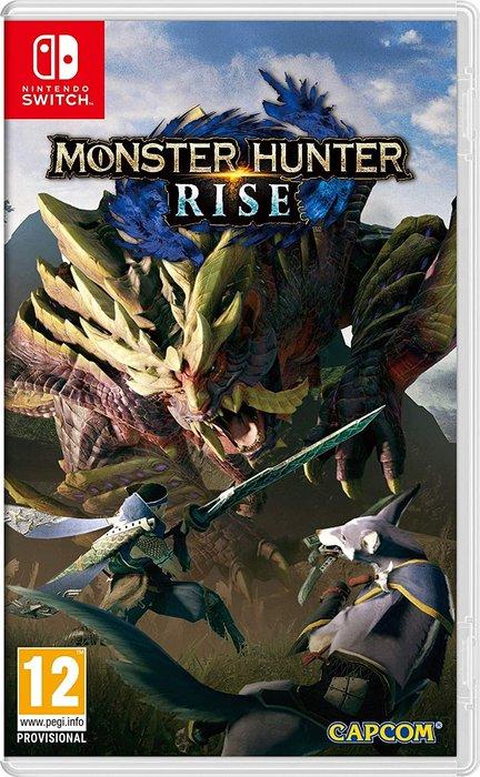 Videojuego switch monster hunter rise