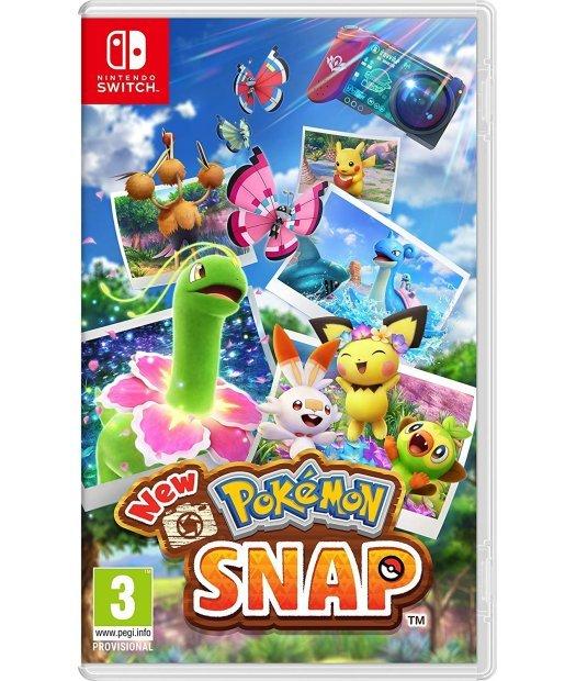 Videojuego switch new pokemon snap
