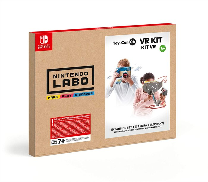 Switch nintendo labo: kit de vr - set de expansion 1