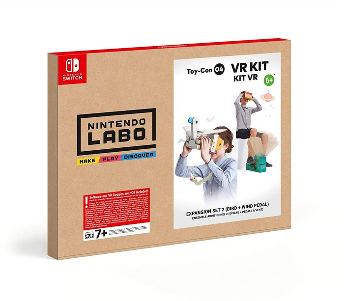 Switch nintendo labo: kit de vr - set de expansion 2