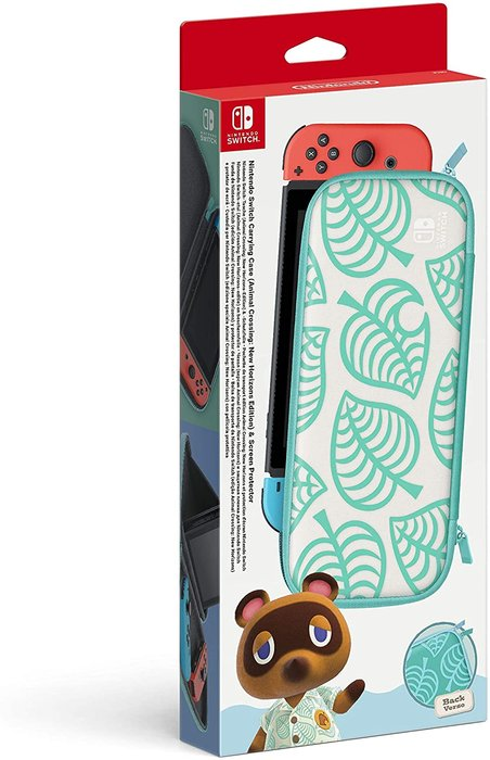 Nintendo switch set accesorios (funda + protector lcd) edici