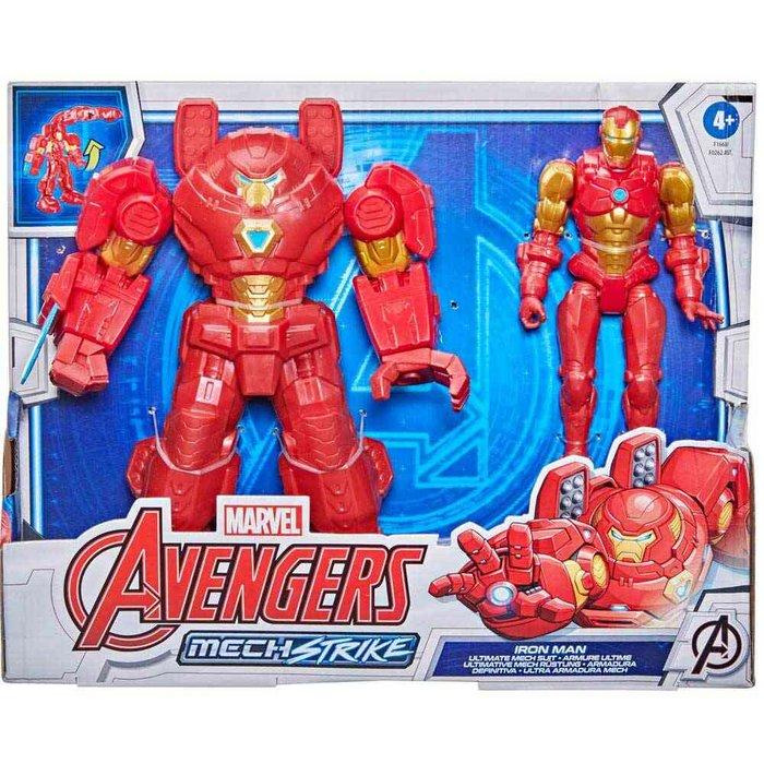 Figura avengers armadura infinity mech strike dlx surtidos