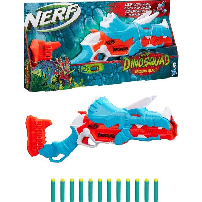 Juego nerf dinosquad tricera-blast