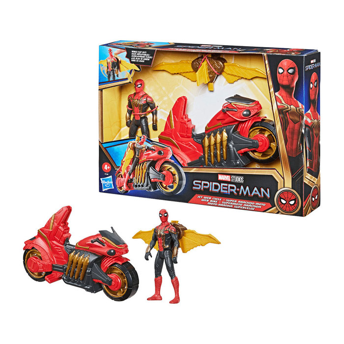Spider-man aracnojet deluxe marvel