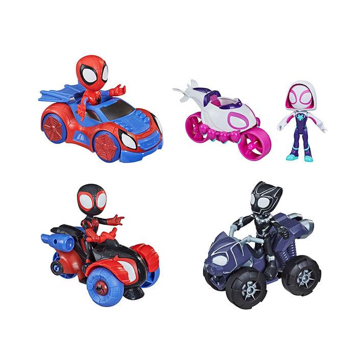 Spidey set figura y vehiculo