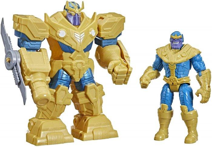 Figura thanos armadura infinity avengers mech strike