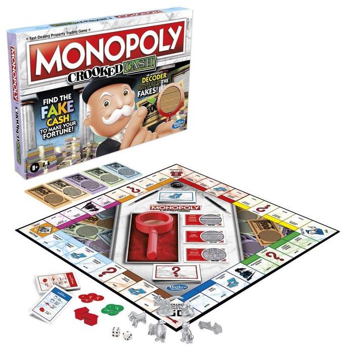 Juego de mesa monopoly crooked cash