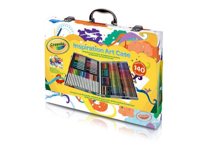 Maletin del artista arcoiris 140 piezas