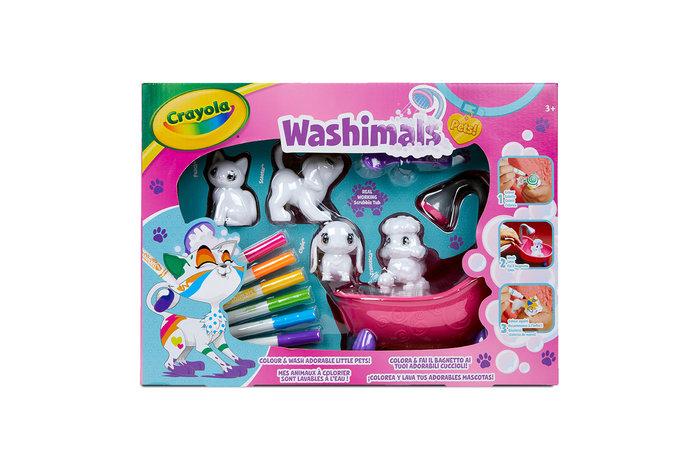 Washimals baÑera y 4 mascotas