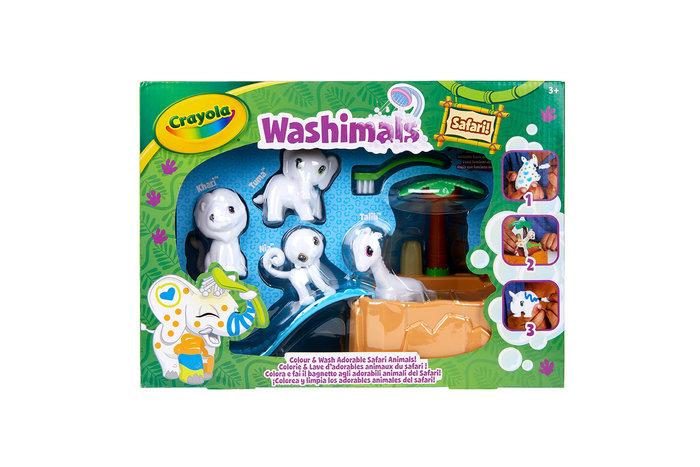 Washimals safari oasis-piscina con cuatro cachorros
