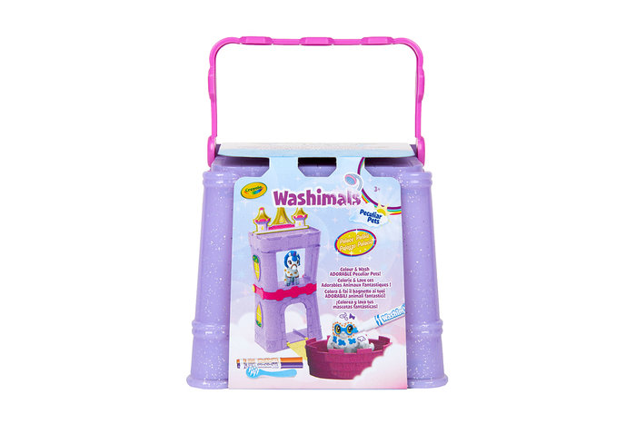 Washimals animalitos fantasticos playset actividades castill