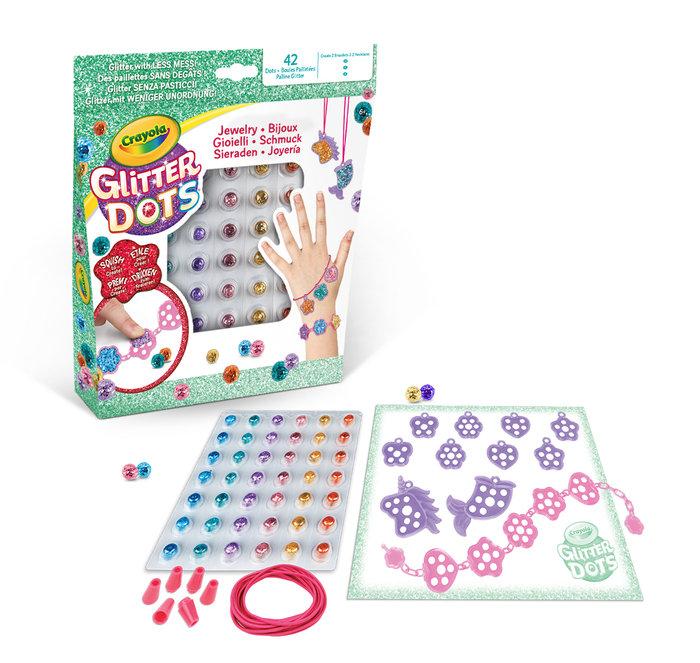 Set joyeria glitter dots