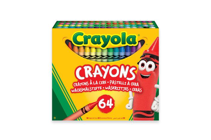 Ceras crayola 64 colores
