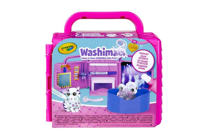Washimals mini playset peluqueria canina