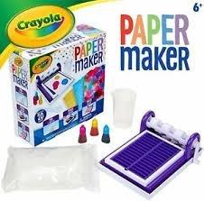Laboratorio de papel crayola