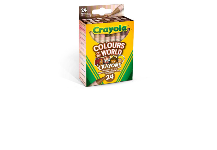 Cera crayola 24 colores colours of the world