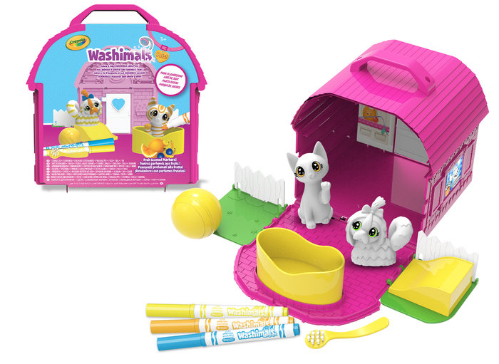 Washimals - playset parque de juegos