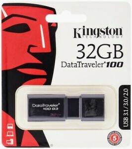 Pendrive kingston usb 3.0 32 gb data traveler g3