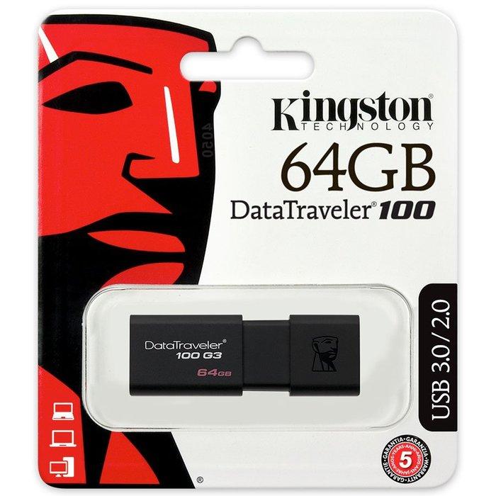 Pendrive kingston usb 3.0 64 gb data traveler g3