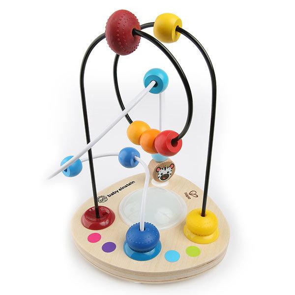 Juego hape baby einstein laberinto de cuentas multicolor