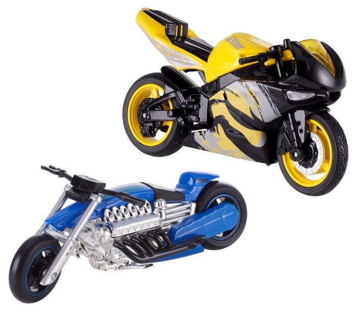 Hot wheels motos street pwer 1/18 surt