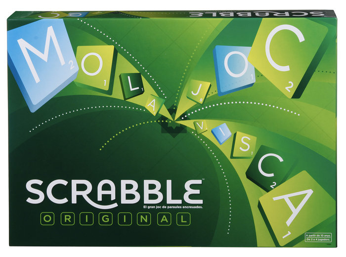 Juego scrabble original catalan