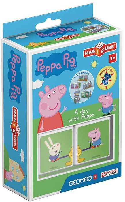 Puzle magicube a day with peppa
