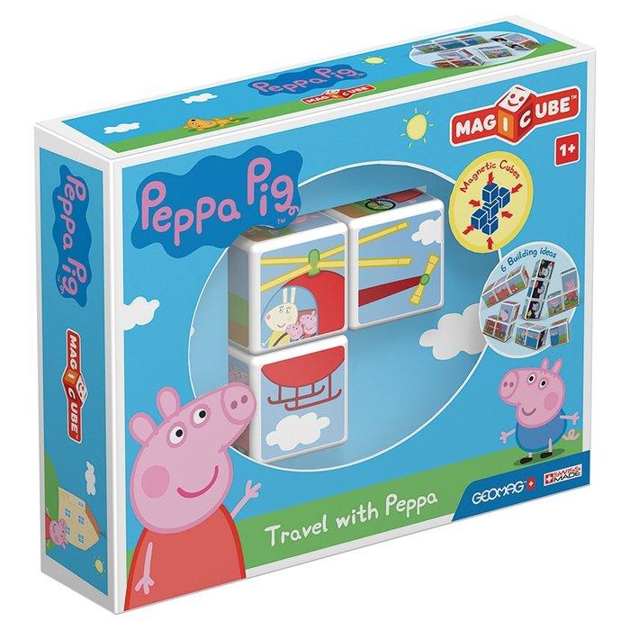 Puzle magicube travel with peppa