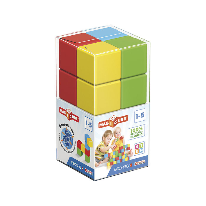 Juego magicube green cubo 8 bloques magneticos