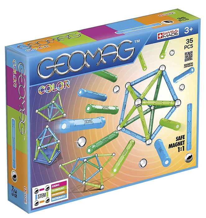 Juego de construccion geomag color 35 piezas